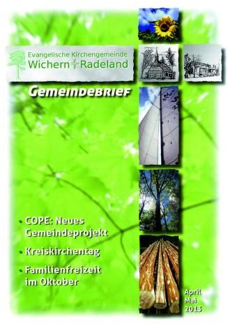 Gemeindebrief der Kirchengemeinde Wichern und Radeland in Berlin-Spandau
