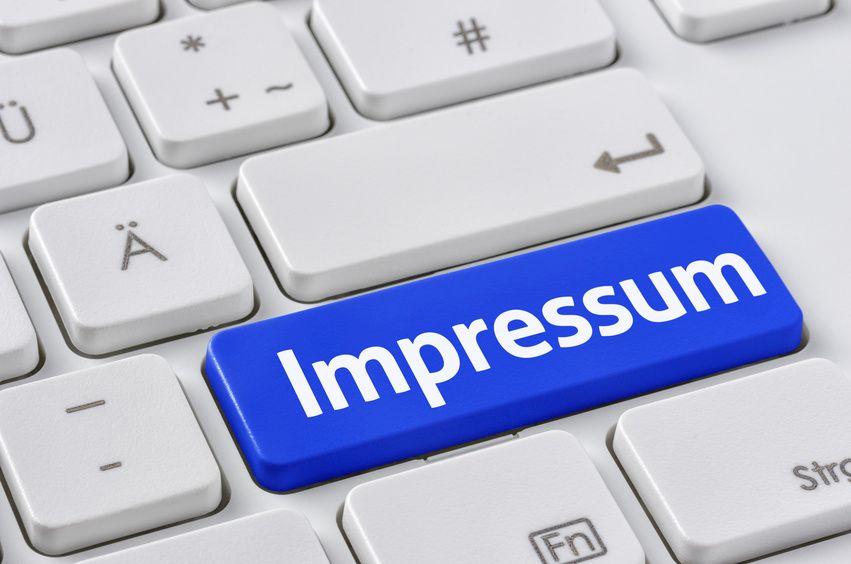 Ob Gemeindebrief oder -Website: Ein Impressum ist Pflicht