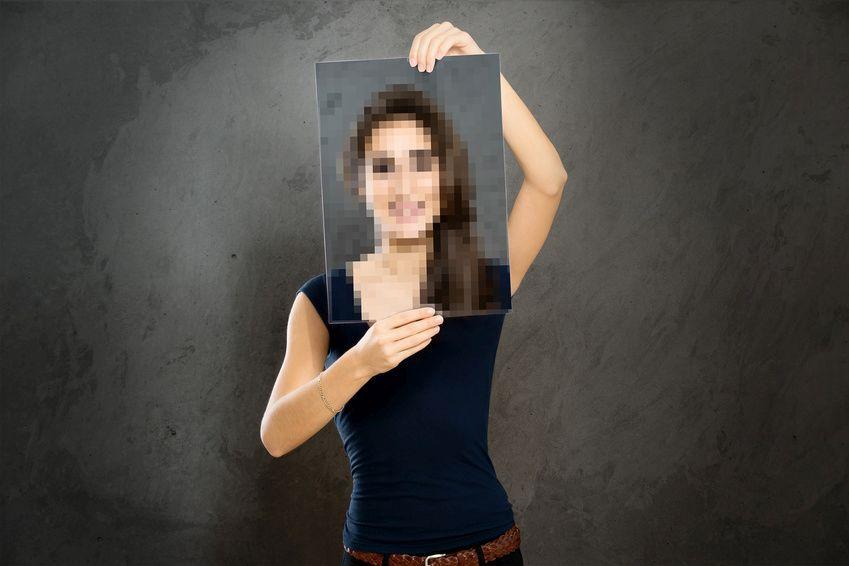 Verpixelte Bilder sind ein häufiger Fehler beim Druck.