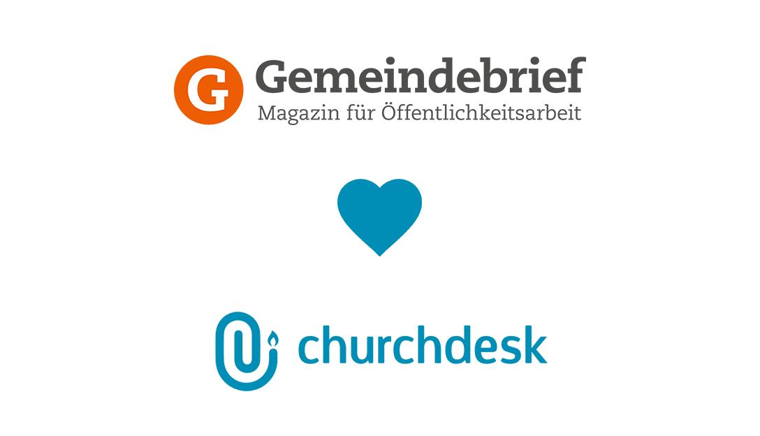 Gemeindebrief und ChurchDesk - ein starkes Team!
