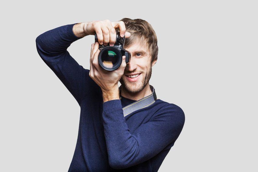Bitte lächeln: Das gilt auch für den Fotografen